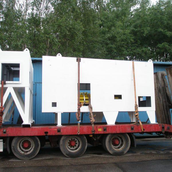 AIR LIQUIDE - obudowa kompresora 2