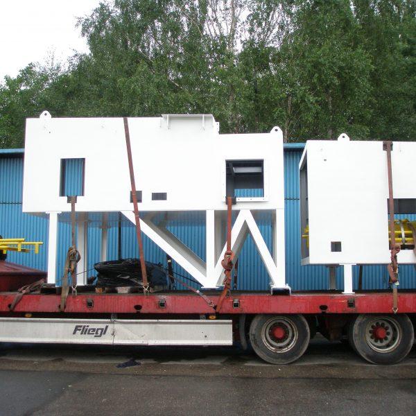 AIR LIQUIDE - obudowa kompresora