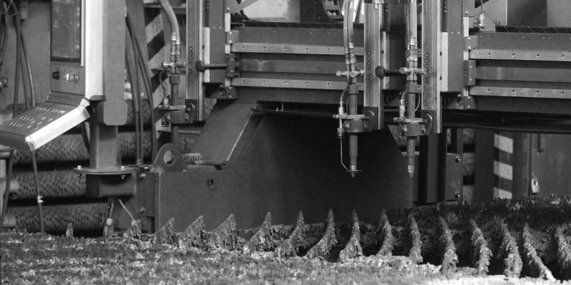 CNC wyplarka gazowa